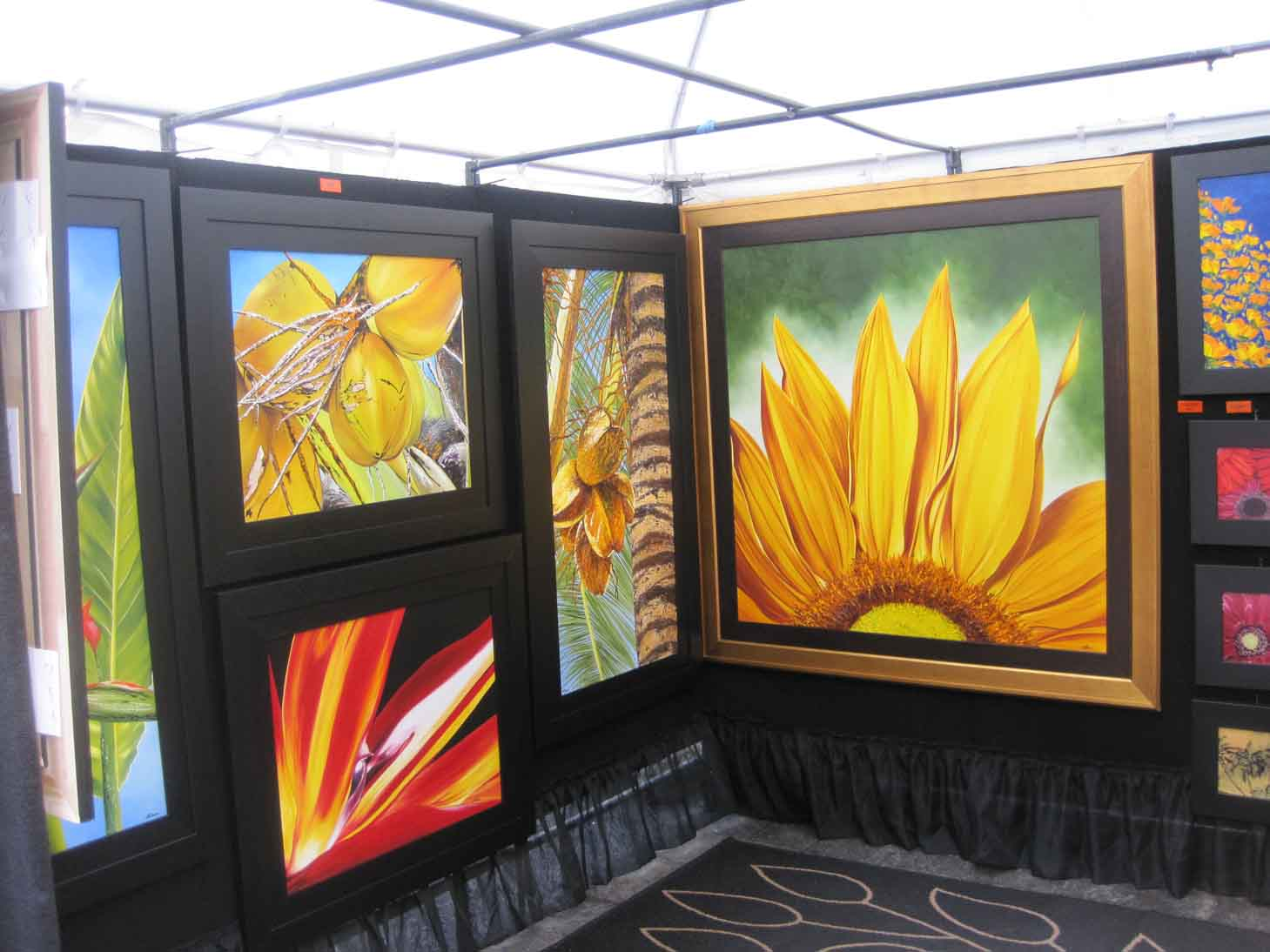 prodigious Art Festival Booth Display Ideas Part - 14: Art Fair - ArtFestival.com